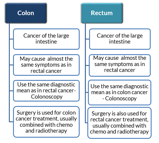 Colon Cancer Vs Rectal Cancer Cancer Avenue