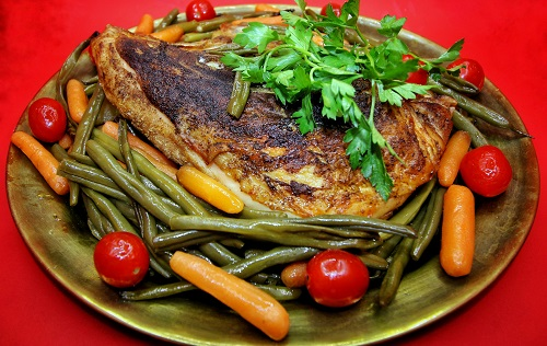 chicken-breast-and-green-beans-healthy-recipe