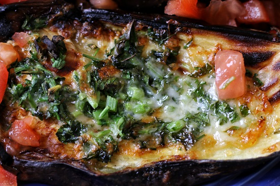frenzy-keto-diet-day-4-lunch-eggplants-cheese